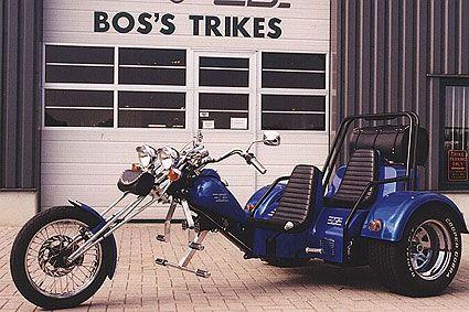 Boss Trike MT1 2-zitter