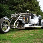 courage trike zilver